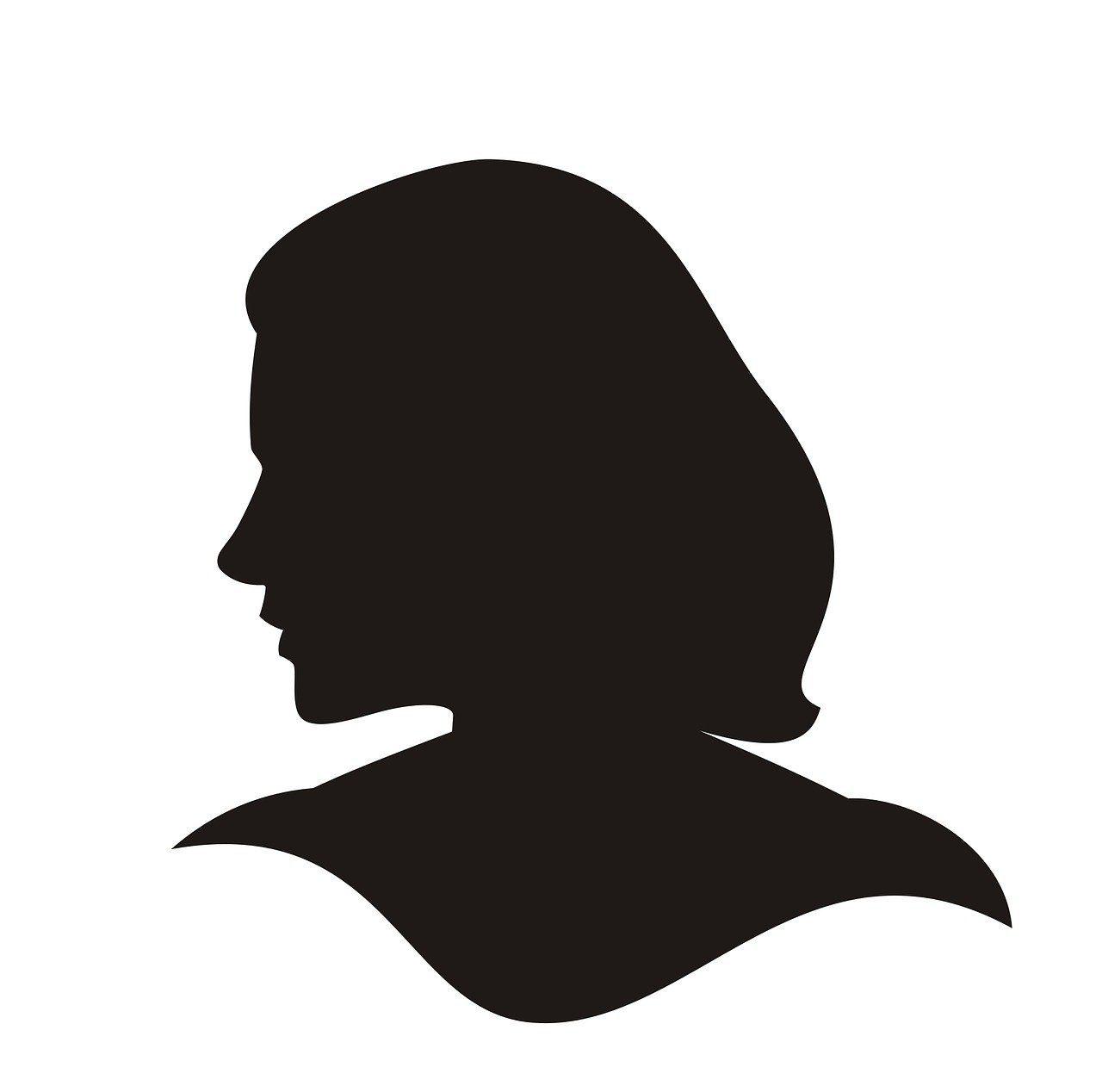 silhouette, head cameo, woman-988831.jpg